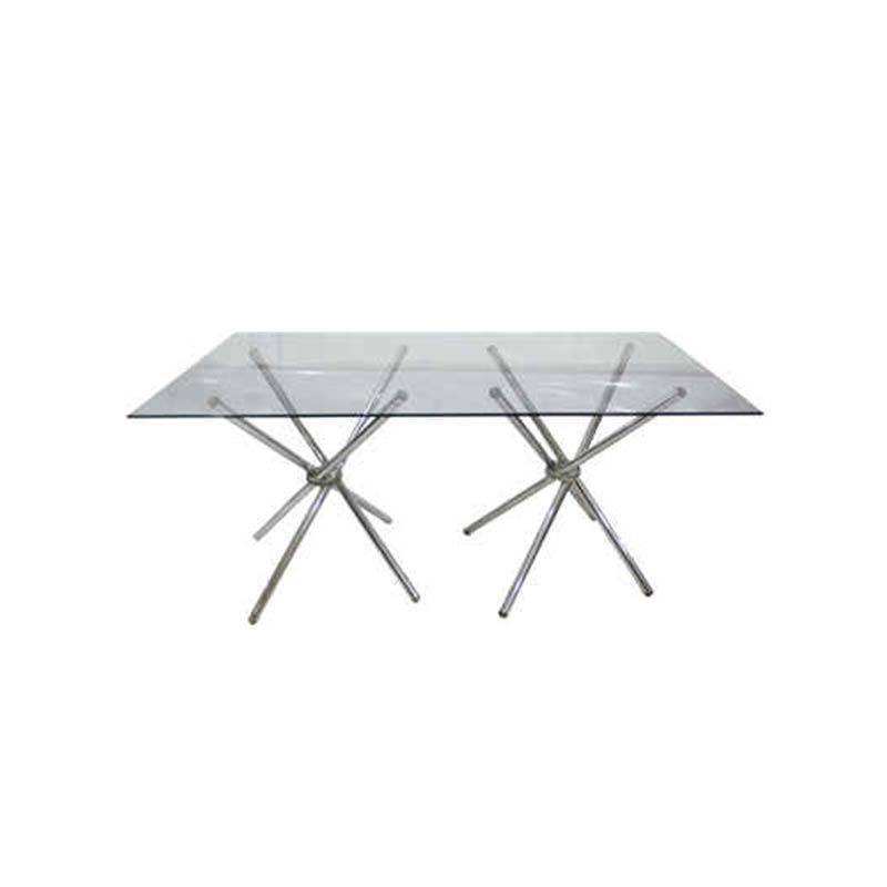 اجاره میز شیشه ای 8 نفره