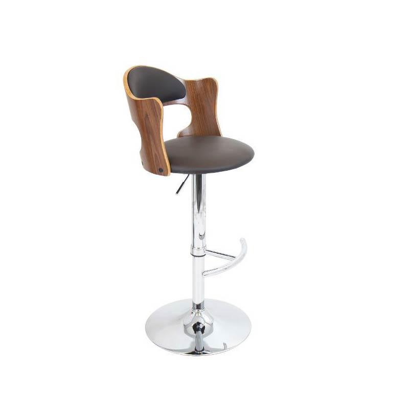 اجاره صندلی جک دار مدل چرم و چوب