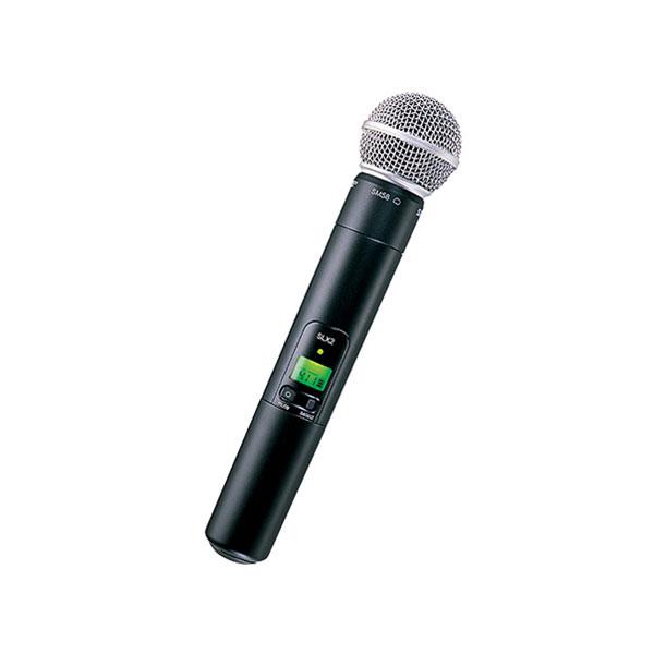 اجاره میکروفون بی سیم shure مدل SLX24/SM58